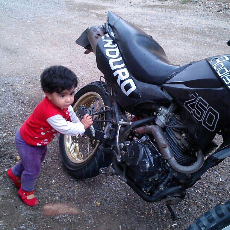 بچه مون عشق موتور سازی