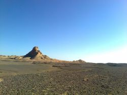 کوه کلیزه اطراف شهرستان نایین