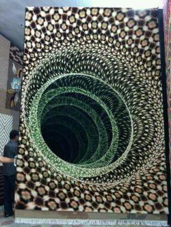 فرش سه بعدی رو ببینید وحالشو ببرید!