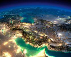 عکس ماهواره ای از ایران عزیز