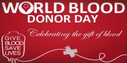 24 خرداد ( 14 ژوئن ) روز جهانی اهداء خون بر تمامی اهداء کنندگان خون مبارک باد .