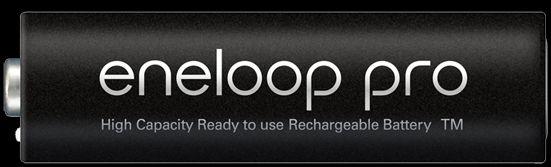 انلوپ پرو ( به رنگ مشکی )  : eneloop pro باتریهای انلوپ پرو (به رنگ مشکی)انتخابی ایدهال برای تامین انرژی دستگاههای الکترونیکی قوی و پرمصرف میباشد؛ از قبیل فلاش دوربینهای عکاسی، ماوس و کیبورد بیسیم، دستههای بازی، کنترلهای از راه دور، اسباب بازیها و بسیاری از دستگاههای که در منزل وجود دارد.