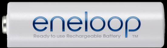 انلوپ استاندارد (به رنگ سفید) : eneloop این مدل باتری انلوپ بسیار قدرتمند بوده وهمچنین از قبل شارژ شده و قابل استفاده پس از خرید میباشد. انلوپ (به رنگ سفید) بسیار اقتـصادی، مقرون به صرفه  و قابل بازیافت میباشد که می توان آنرا بیـش از 2100 مرتبه شارژ و استفاده کرد.