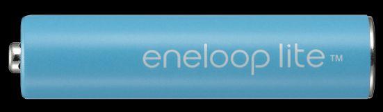 انلوپ لایت ( به رنگ نیلی)  : eneloop lite باتریهای انلوپ لایت ( به رنگ نیلی) مناسب دستگاههایی با مصرف انرژی پایین تا متوسط از قبیل تلفنها، کنترلهای تلویزیون و غیره میباشد. باطریهای انلوپ لایـت را میتوان بیش از 3000 مرتبه شارژ و مورد استفاده قرار داد، به همین دلیل باتـریهای انلوپ لایت بـسیار مقرون به صرفه و اقتصادی و همینطور دوستدار محیط زیست میباشند.