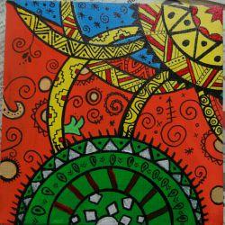 نقاشی با اکرلیک