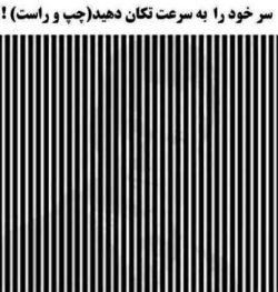 سرتون رو به چپو راست تكون بدید . تصویر رو دیدید ؟! بله؟