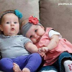 وای من عاشقه بچه های تپلیم  دقیقا مثله اینا