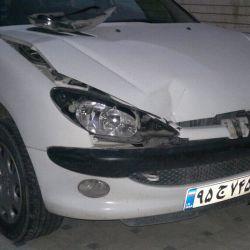 ماشینمه،دیروز تصادف کردم،لطفا لایک کنید ی کمی روحیه بگیرم.