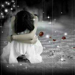 این حال الان منه -__- ....... احساس تنهایی -_-