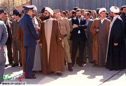 شهیدمنصور ستاری و دکتر حسن روحانی