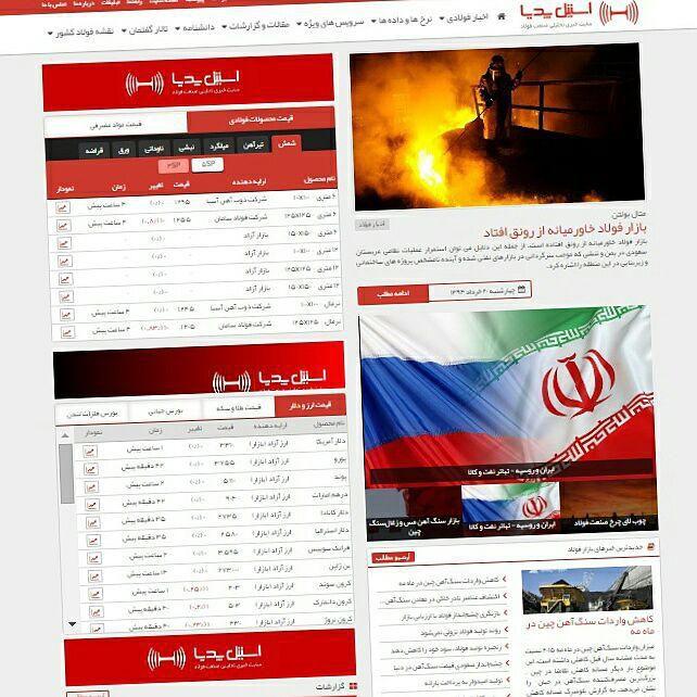 نبض صنعت فولاد ایران و جهان در استیل پدیا