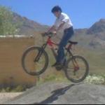 علی عشق دوچرخه