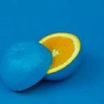 پرتقال آبی